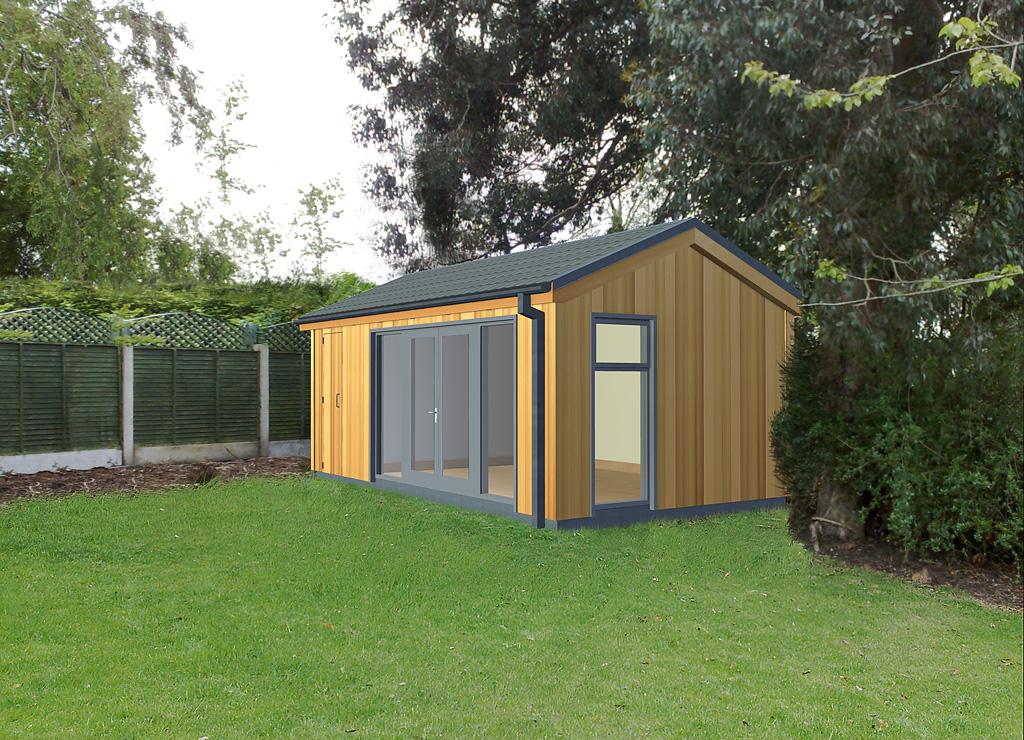 Garden Rooms Design Ideas, Garden Room Plans | ECOS Ireland