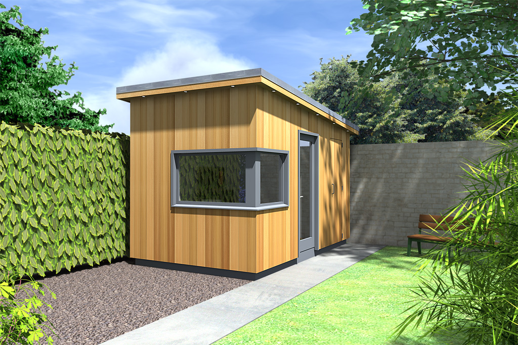 Garden room design idea | Moderno | 20120526BMcD | ECOS Ireland