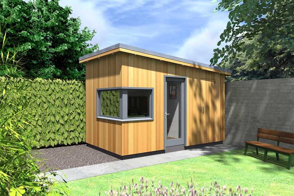 Garden rooms design ideas garden room plans ecos ireland for Two room garden shed
