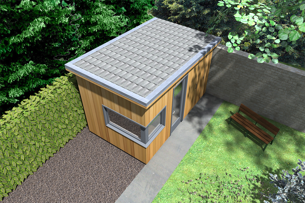 Garden Shed Ideas Ireland : garden office with storage room dublin ireland