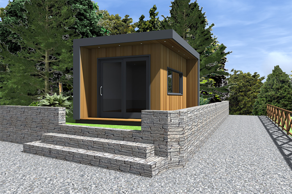 Garden Ideas Ireland modern garden office design idea | cubeco | 20120707pt | ecos ireland