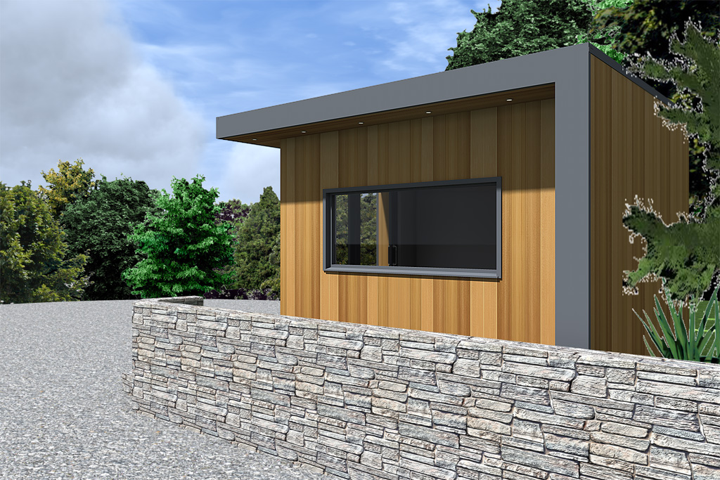 Garden rooms design ideas garden room plans ecos ireland for Modern garden rooms