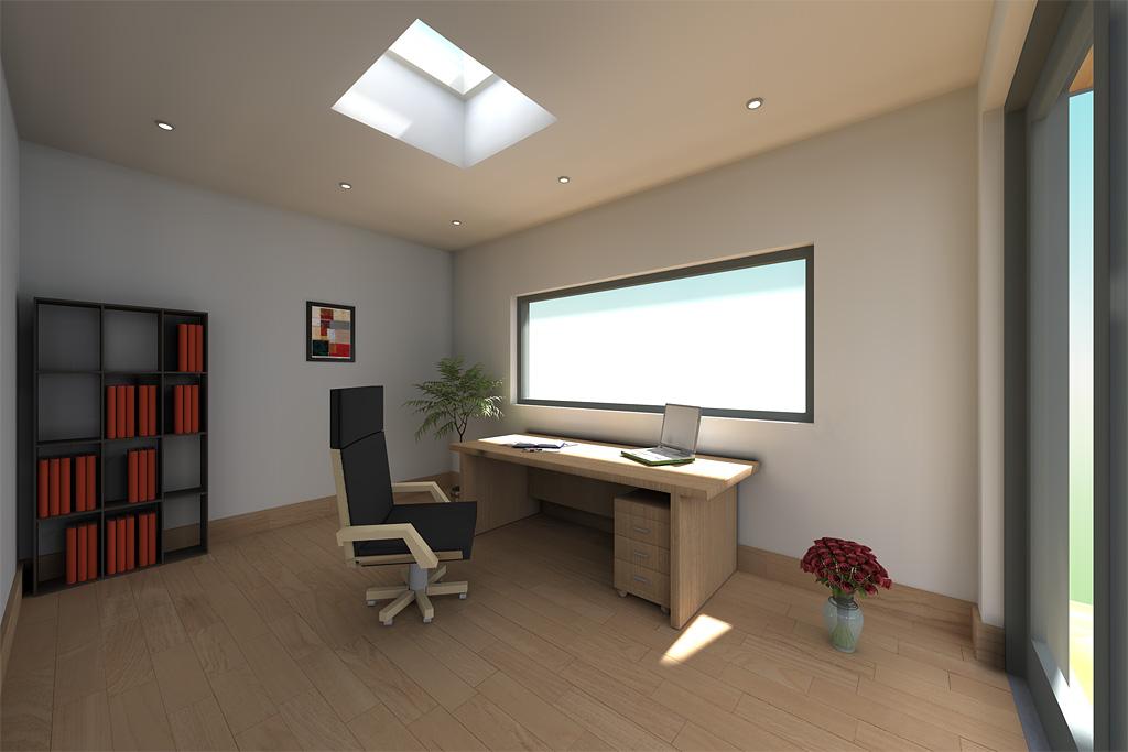 Modern Garden Office Design Idea Cubeco 20120707pt