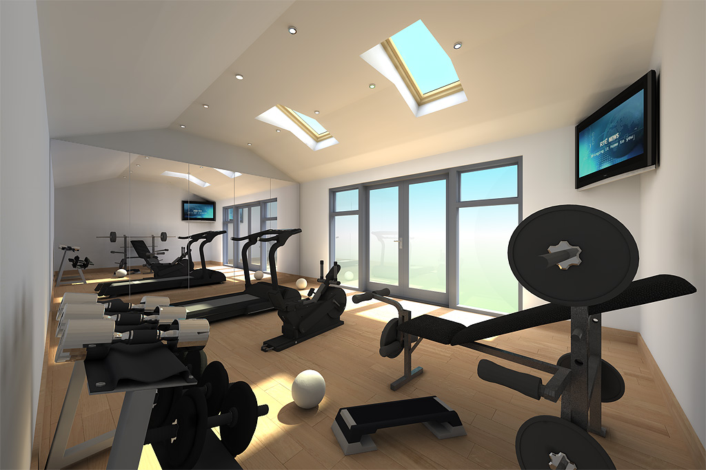 Garden gym design idea classeco  dd ecos ireland