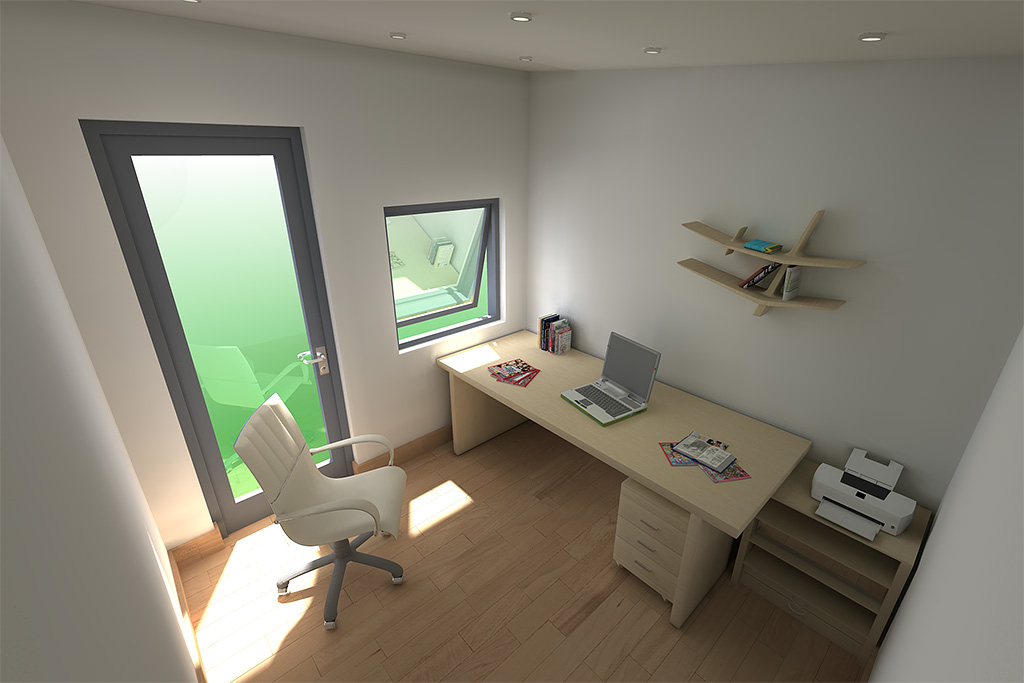 Modern home office pod design idea moderno 20121117bh for Designs for garden rooms