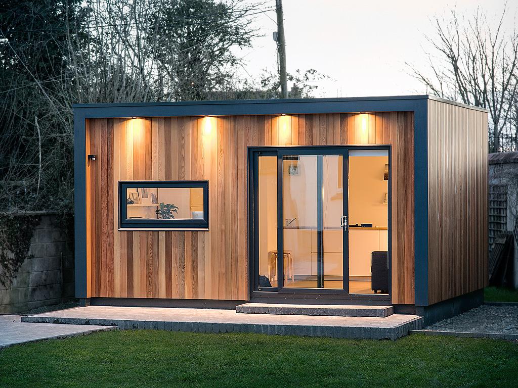 Garden rooms design ideas garden room plans ecos ireland for Garden studio designs