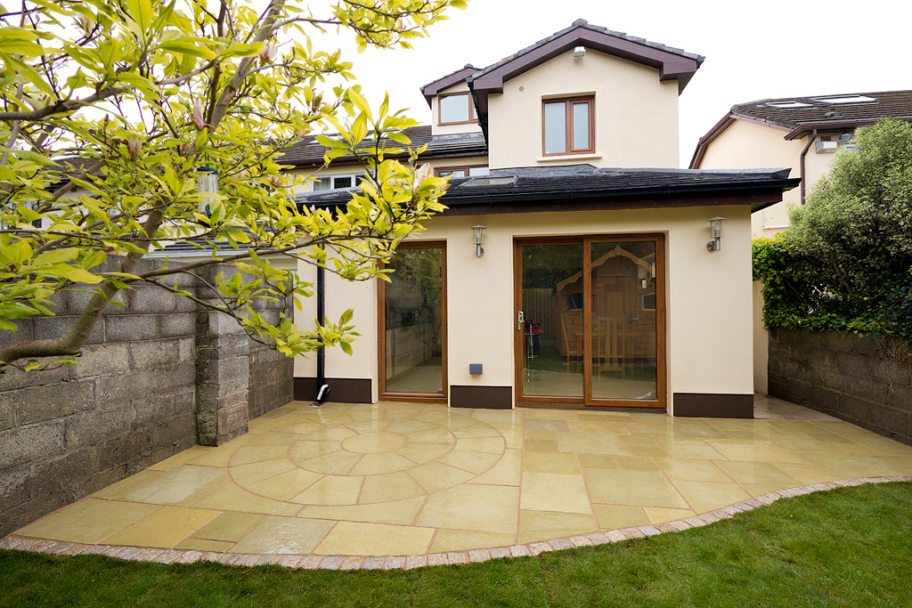 house extension JF paving 01 L