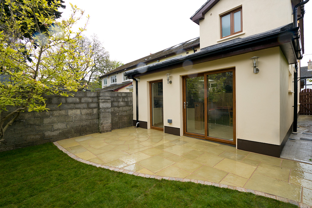 House extension renovation and attic conversion foxrock for Garden house extension