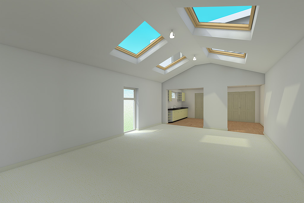 Living room house extension design idea naas co kildare for House extension interior designs