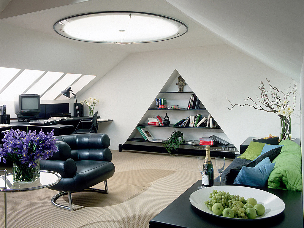 Attic conversions photo gallery ecos ireland for Unique apartment decorating ideas