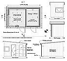 garden office pod plan