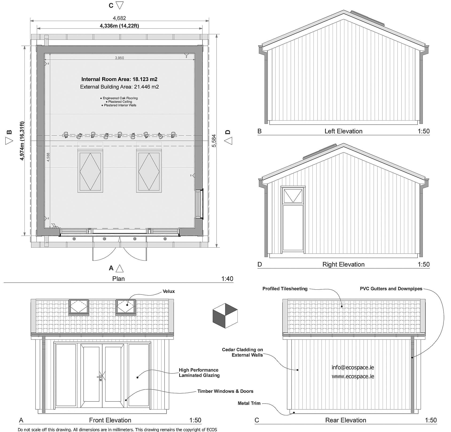 Garden rooms design ideas garden room plans ecos ireland for Garden space planner