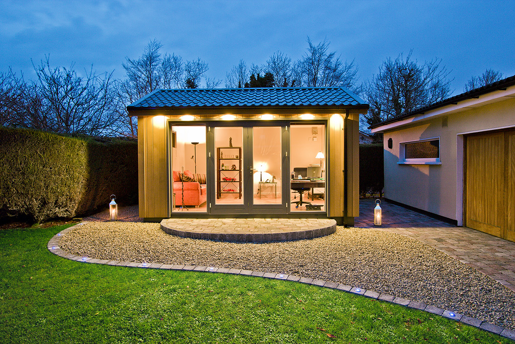 Garden rooms design ideas garden room plans ecos ireland Outside rooms garden design