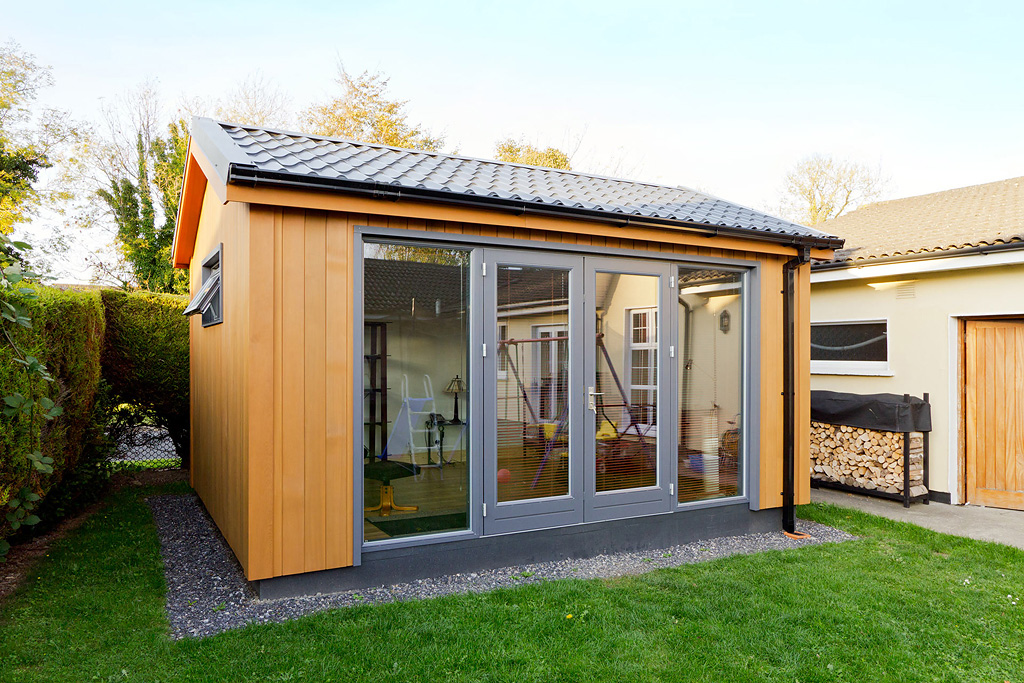 Garden room design ideas ecos ireland for Garden gym room uk