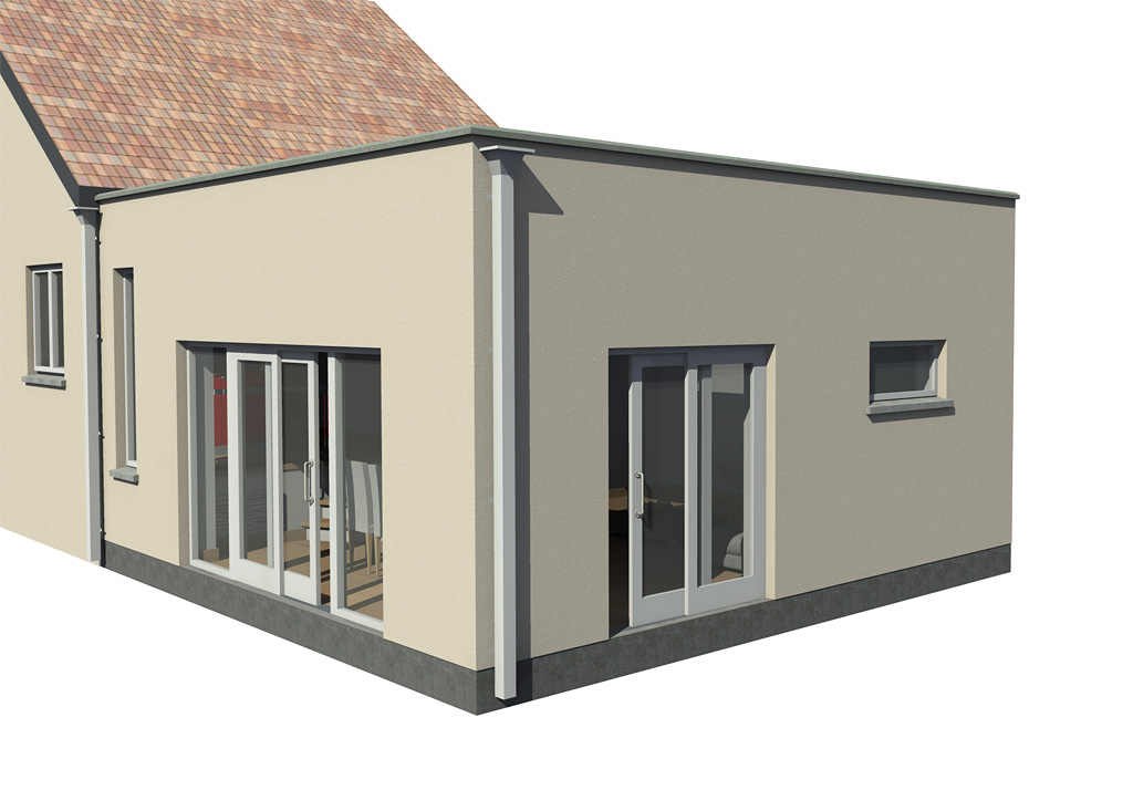 ... House Extension ...