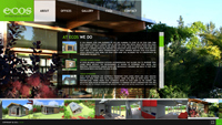 eco garden offices microsite